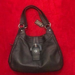 Leather COACH Shoulderbag